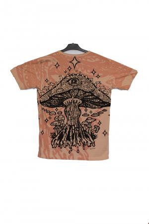 Tricou Melting Mushroom crem - Marime XL1