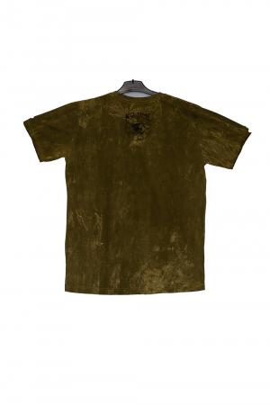 Tricou Einstein Vacantion - Verde marime L si XL1