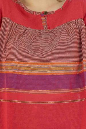 Bluza din bumbac cu maneca scurta  - Color combo 92