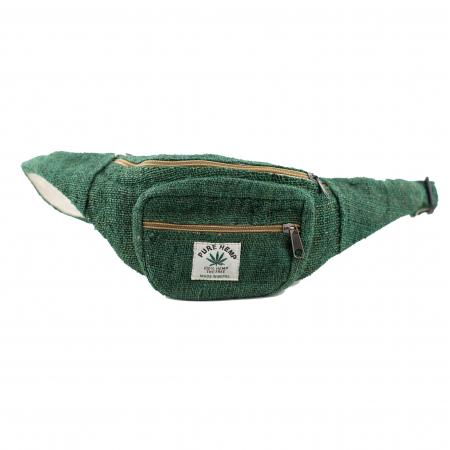 Borseta din canepa - Verde Inchis0