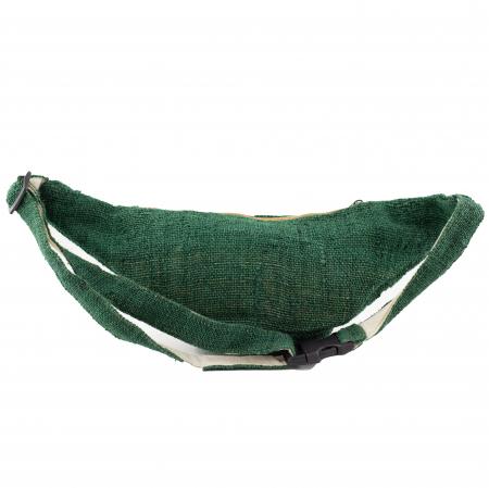 Borseta din canepa - Verde Inchis3