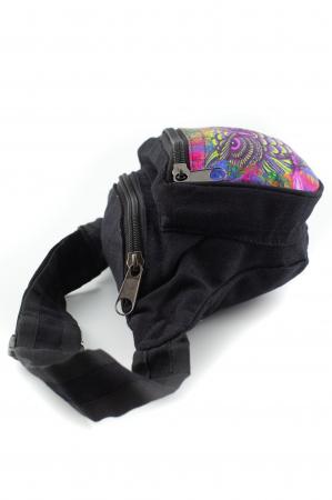 Borseta Tie Dye - Bufnita multicolor [3]