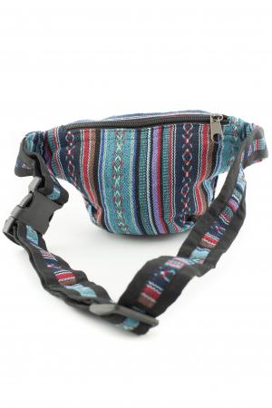 Borseta Tie Dye - Horse Albastru3