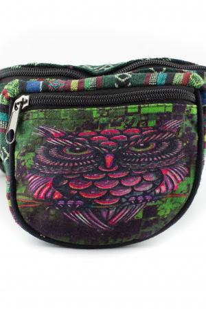 Borseta Tie Dye - Graffiti Owl [1]