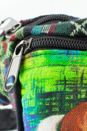 Borseta Tie Dye - Horse Green1