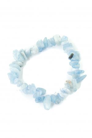 Bratara compusa dintr-un element - Lapis Lazuli Albastru Deschis0