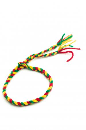 Bratara de picior impletita - Multicolora [0]