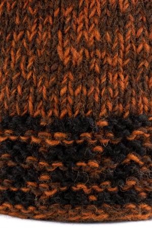 Caciula din lana - Black and Brown2