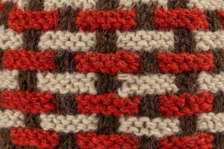 Caciula din lana - Brown3