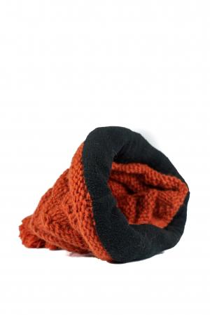 Caciula din lana - Caramiziu7