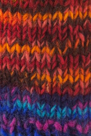 Caciula din lana cu ciucure - Blue Rainbow2