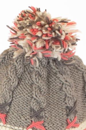 Caciula din lana - Gri5