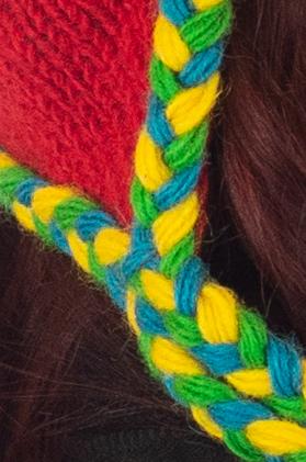 Caciula din lana copii - Rainbow4