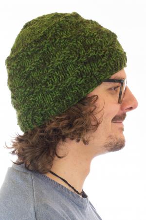 Caciula din lana - Green3