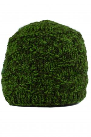 Caciula din lana - Green1