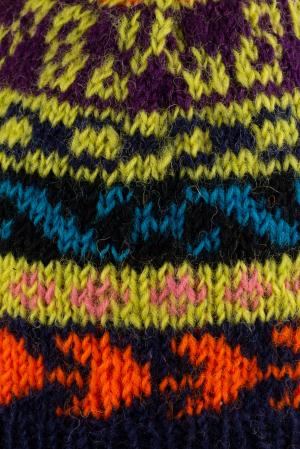 Caciula din lana Green copii - Multicolor2