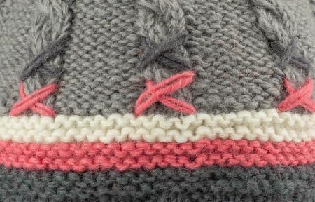 Caciula din lana - Gri2