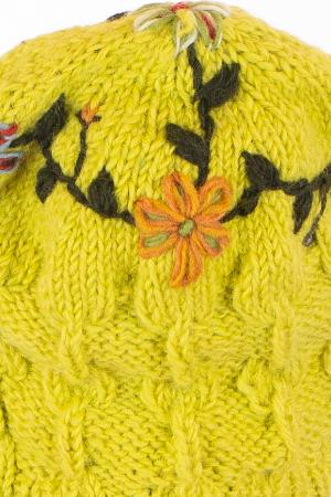 Caciula din lana - Lime [8]