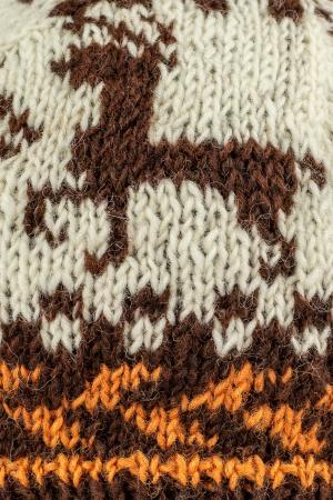 Caciula din lana copii - Reindeer1