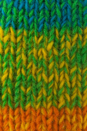 Caciula lunga din lana - Rainbow2