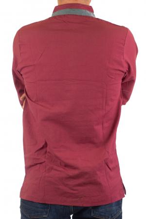 Camasa cu maneca lunga - Grey Collar - Visiniu [9]