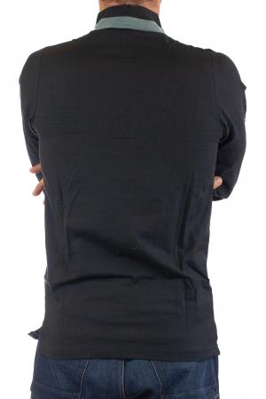 Camasa cu maneca lunga - Grey Collar - Negru [5]