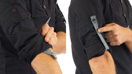 Camasa cu maneca lunga - Grey Collar - Negru [9]