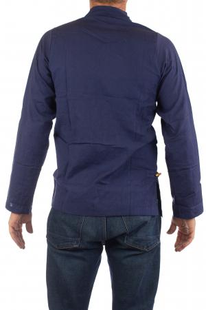 Camasa cu maneca lunga - Side Cut - Albastru Inchis [4]