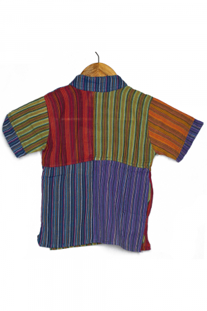 Camasa cu maneca scurta din bumbac unicat pentru copii- M - Porcusor M151