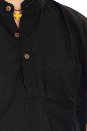 Camasa cu maneca scurta - Neagra [1]