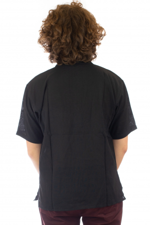 Camasa cu maneca scurta - Neagra [3]