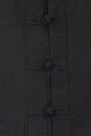 Camasa cu nod chinezesc - Chinese knot shirt - Negru - Model 2 [1]