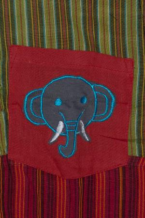 Camasa din bumbac de copii, Elefant marimea XL - maneca scurta unicata M21