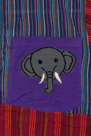 Camasa din bumbac de copii, Elefant marimea XXL - maneca scurta unicata M41