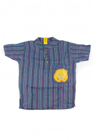 Camasa din bumbac de copii, Mistret marimea S - Maneca scurta unicata M350