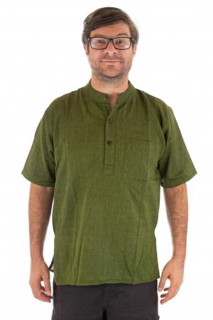 Camasa lejera de vara - Verde [0]