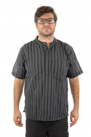 Camasa lejera de vara - Neagra0