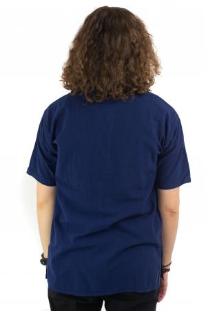Camasa simpla de vara - Albastru inchis [3]