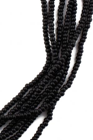 Colier Mala 6 randuri negru [1]