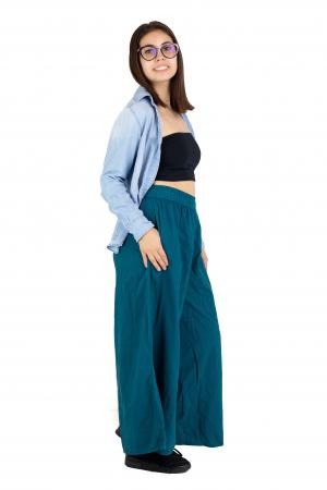 Culottes cu banda elastica - Turcoaz [2]