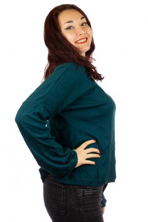 Bluza pe umeri - Teal1