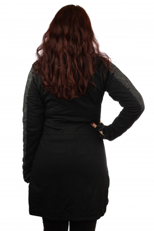 Jacheta femei neagra - Patterns3