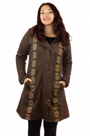 Jacheta femei din bumbac - Marime M - 70's0