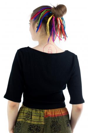 Dreaduri sintetice - Rainbow lung - felt longer hair gom [0]