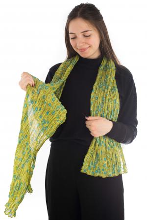 Esarfa subtire - Lime Green4