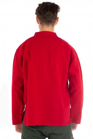 Camasa lejera cu maneca lunga - Rosu [2]