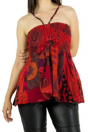 Top dama colorat RFG-517 - Rosu [0]