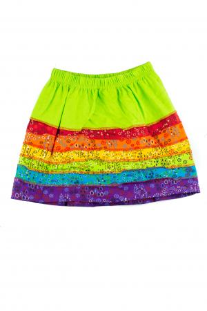 Fusta rainbow pentru copii - Banda verde [1]
