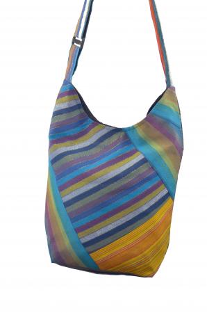 Geanta de umar multicolor - OM - Caro5
