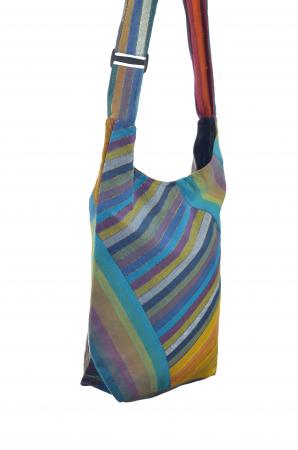 Geanta de umar multicolor - OM - Caro4